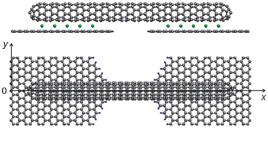 Finite-length carbon nanotubes